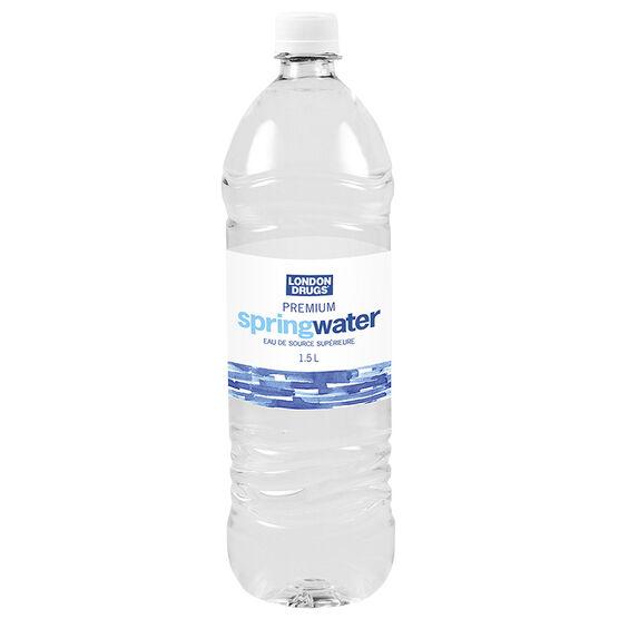 London Drugs Premium Spring Water - 1.5L