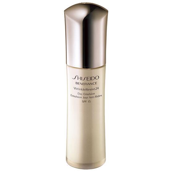 Shiseido Benefiance Wrinkle Resist 24 Day Emulsion - SPF 15 - 75ml