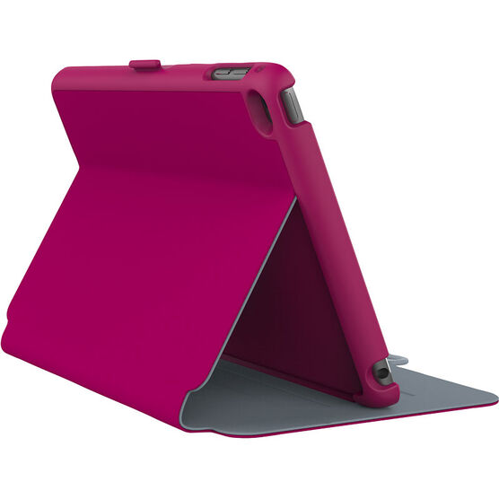 Speck Stylefolio Case for iPad Mini 4  - Fuschia Pink/Nickel Grey