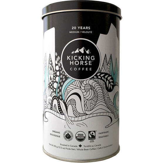 Kicking Horse Coffee 20 Years Anniversary Blend - Medium Roast - Whole Bean - 350g