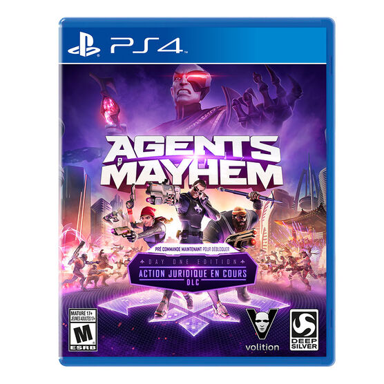 PS4 Agents of Mayhem Day 1