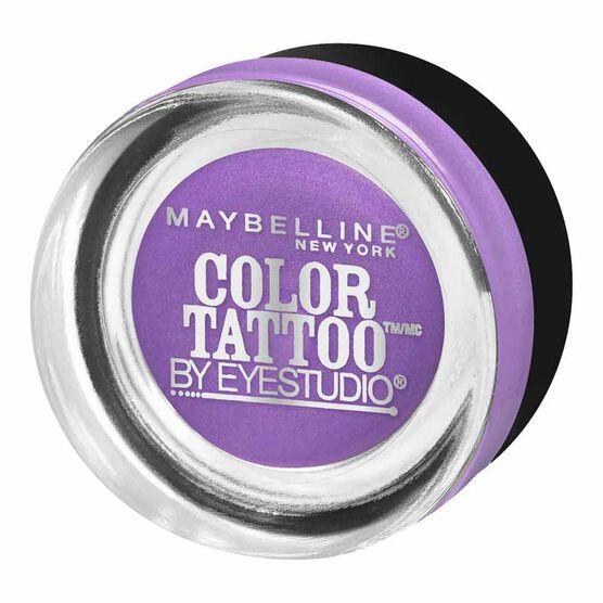 Maybelline Eye Studio Color Tattoo 24HR Cream Gel Eyeshadow - Painted Purple