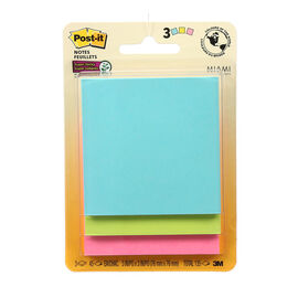 3M Post-it Super Sticky Notes - 3 pads