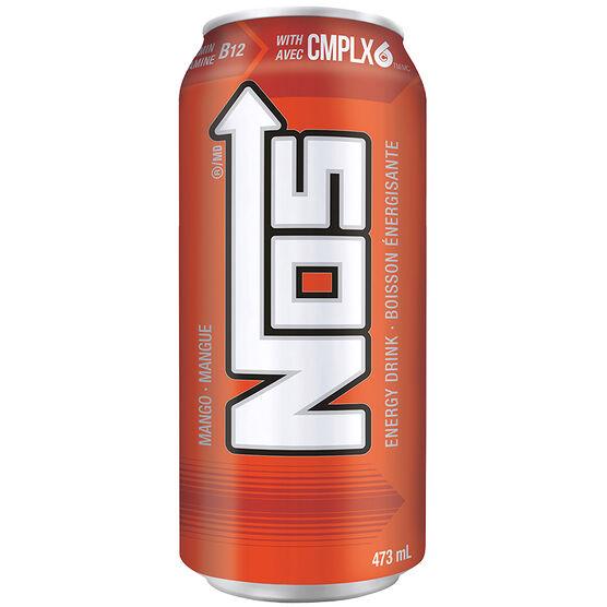 NOS Energy Drink - Mango - 473ml