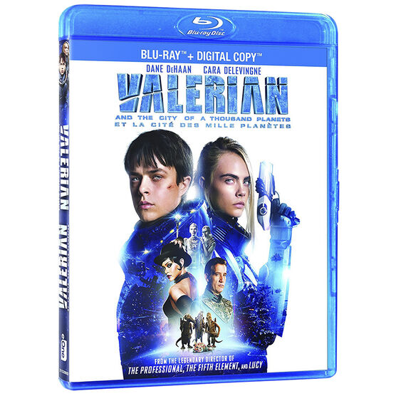 Valerian and the City of a Thousand Planets - Blu-ray