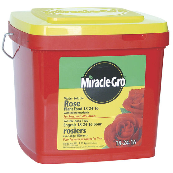 Miracle Gro Water Soluble Rose Plant Food - 1.71kg