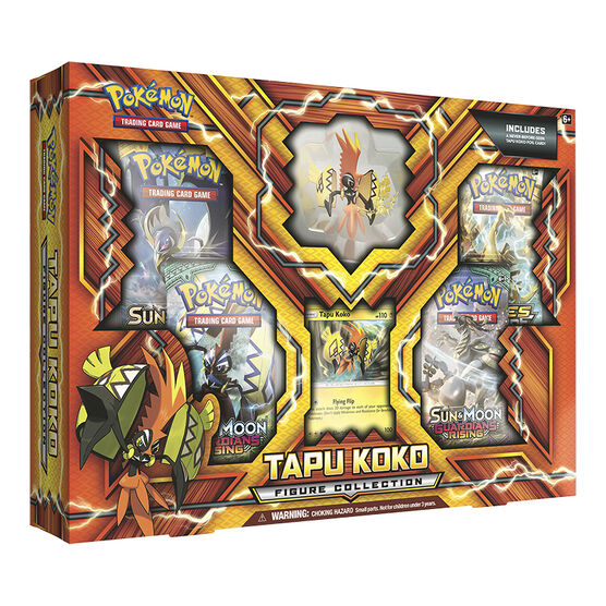 Pokémon Tapu KoKo Figure Collection - Assorted