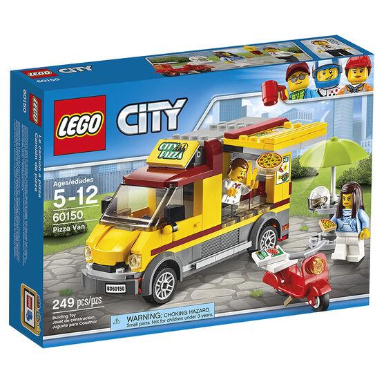 Lego City -  Pizza Van