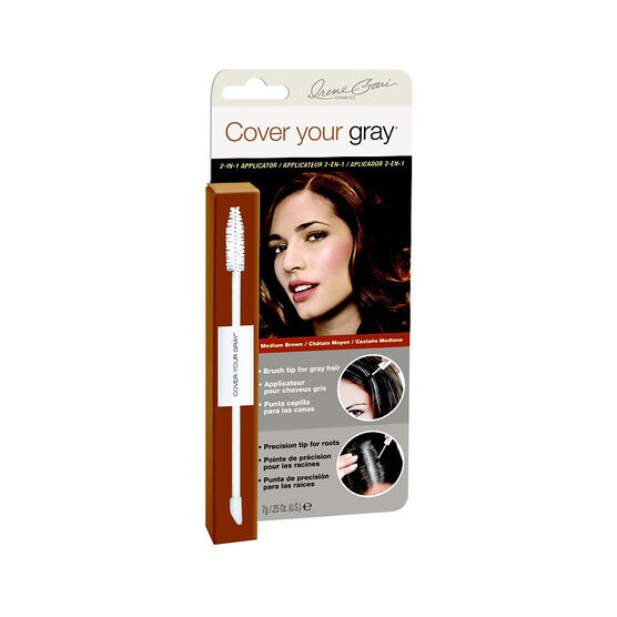 Cover Your Gray 2-in-1 Applicator - Medium Brown