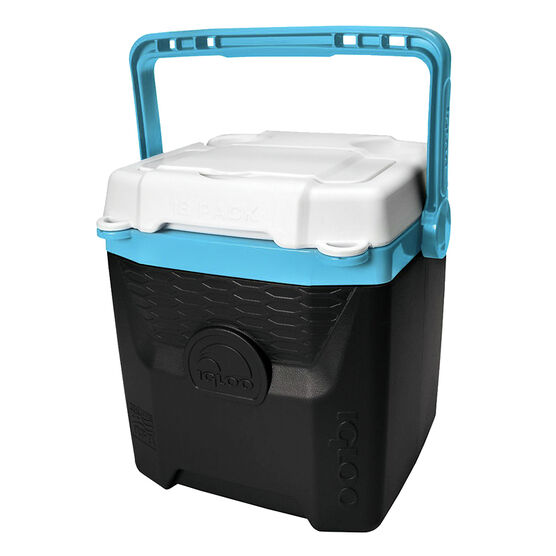 Igloo Quantum Cooler - Black/Turquoise - 11.35L