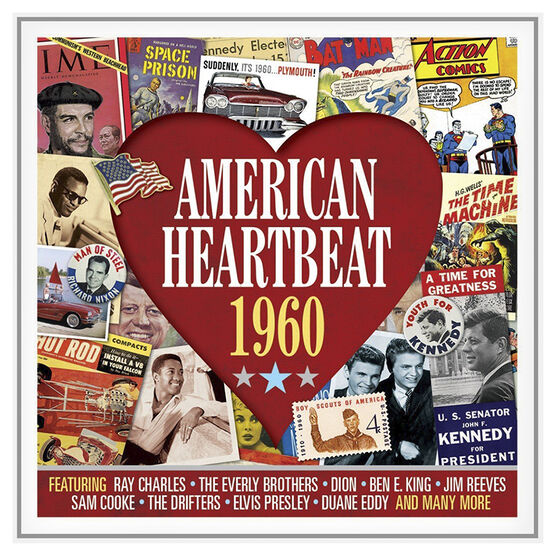 Various Artists - American Heartbeat: 1960 - 2 CD