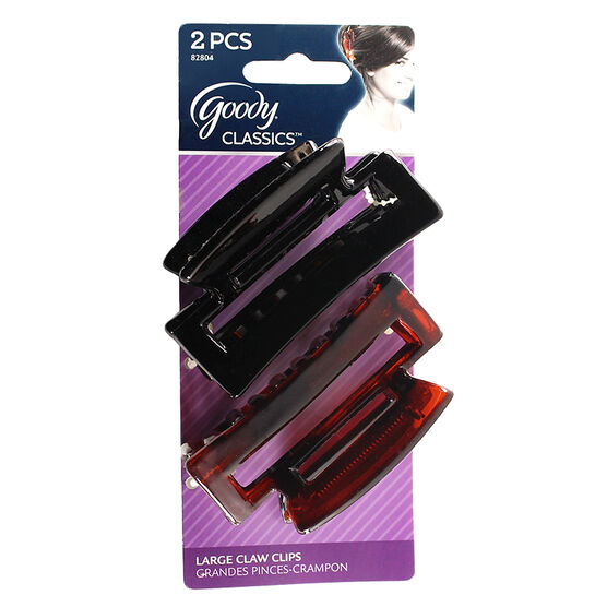 Goody Rectangle Claw Clip