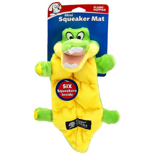 Kyjen Squeaker Mat - Gator