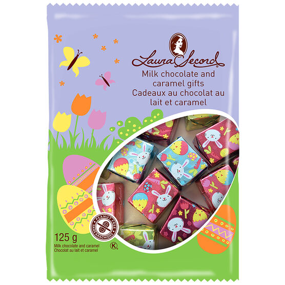 Laura Secord Milk Chocolate and Caramel Gifts - 125g