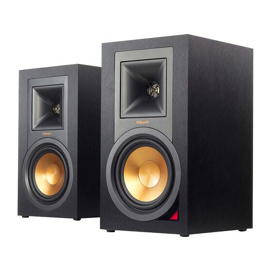 Klipsch Self-Powered Speakers with Pre-Amp - Pair - Black - R15PM