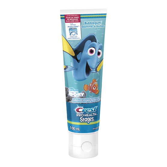 Crest PRO-Health Stages Toothpaste Dory - Bubblegum - 100ml