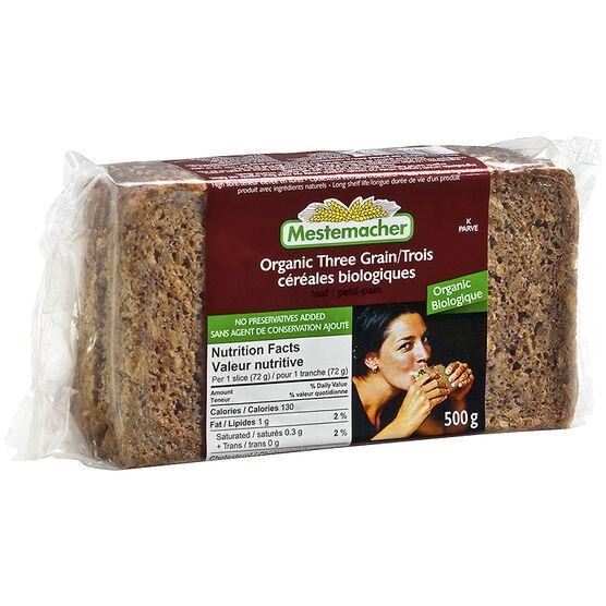 Mestemacher Three Grain Loaf - 500g