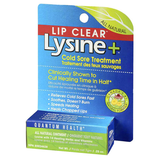 Quantum Health Lip Clear Lysine+ - 7g