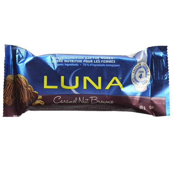 Luna Bar - Caramel Nut Brownie - 48g