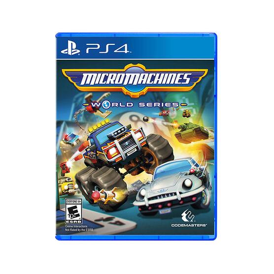 PS4 Micro Machines World Series