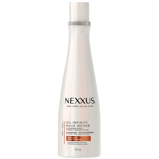 Nexxus Oil Infinite Shampoo - Babassu & Marula Oil - 400ml