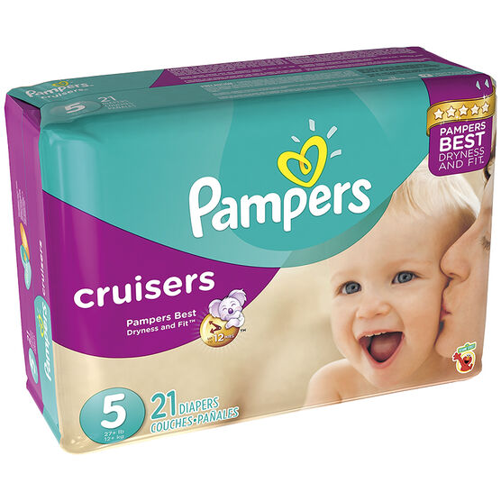 Pampers Cruisers Diapers - Size 5 - 21's
