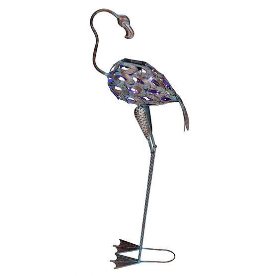 London Drugs Solar Metal Flamingo -  Bent Neck