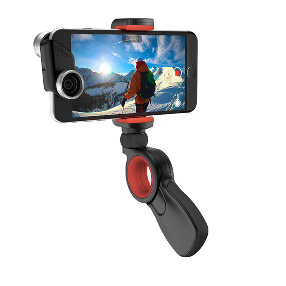 Olloclip PIVOT Grip - Black/Red - OC0000202EU