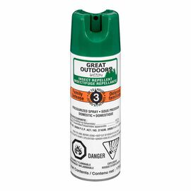 Great Outdoors 10% Deet Insect Aerosol - 175g