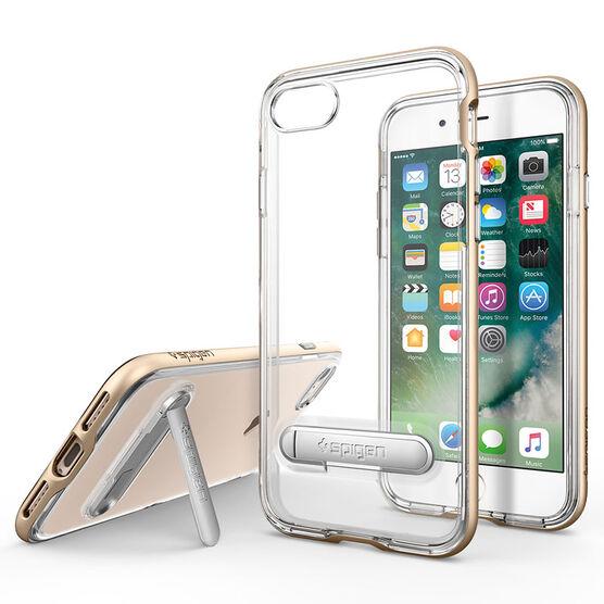 Spigen Crystal Hybrid for iPhone 7 - Gold - SGP042CS20460