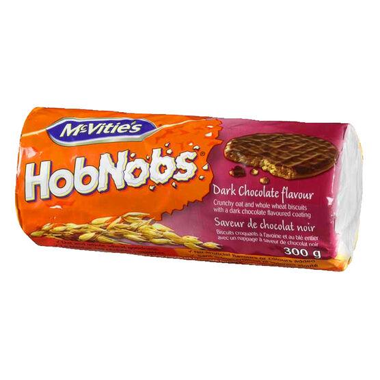 McVities Dark Chocolate HobNobs - 300g