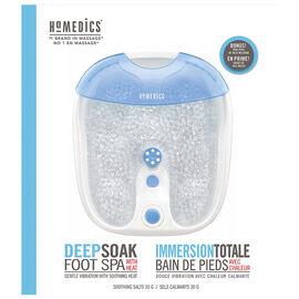 Homedics Deep Soak Foot Spa with Heat - FB-65-CA
