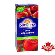 Sun-Rype Unsweetened Pure Apple Juice - 1L