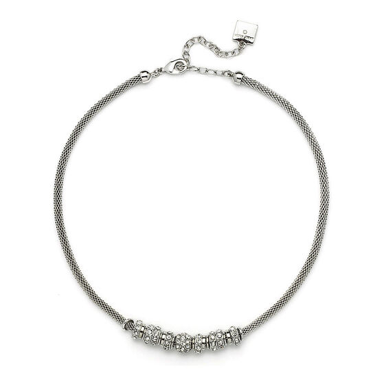 Anne Klein 16 inch Mesh Necklace - Silver