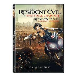 Resident Evil: The Final Chapter - DVD