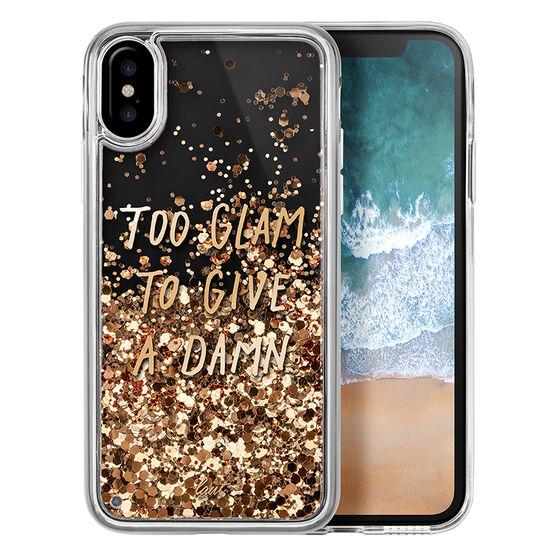 LAUT POP Liquid Case for iPhone X - Glitter Glam - LAUTIP8POPGL