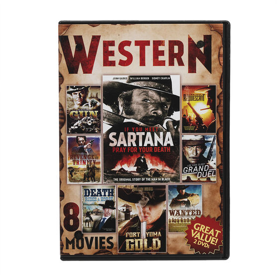 8 Movie Western Collection - DVD