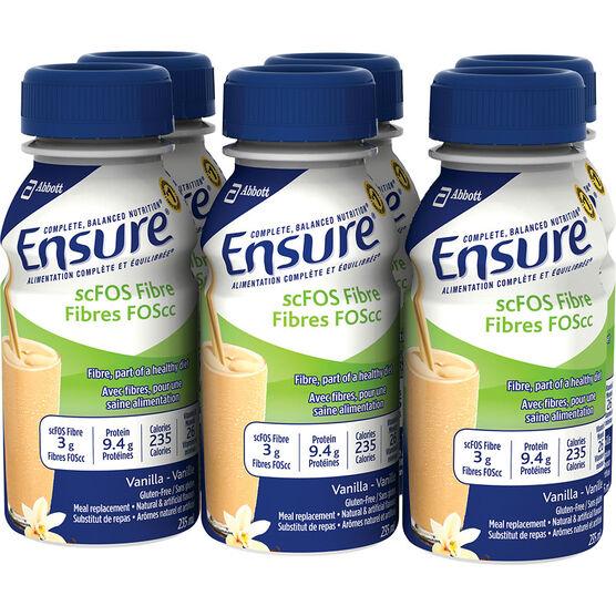 Ensure scFOS Fibre - Vanilla - 6 x 235ml