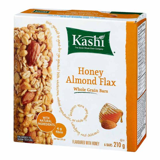 Kashi Chewy Granola Bars - Seven Whole Grains & Almonds - 6 bars