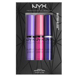 NYX Professional Makeup Butter Lipgloss Set
