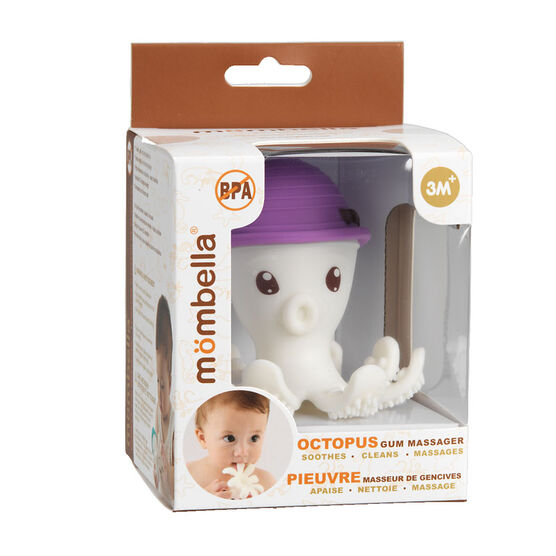 Mombella Octopus Gum Massager - Assorted