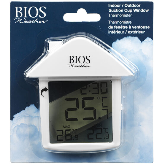 Bios Indoor/Outdoor Digital Suction Thermometer - 314BC