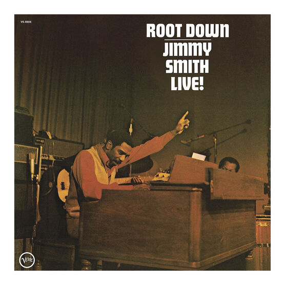 Jimmy Smith - Root Down (Live) - Vinyl
