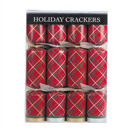Walpert Crackers Tartan - 10in - 8's
