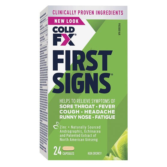 Cold-FX First Signs Capsules - 24's