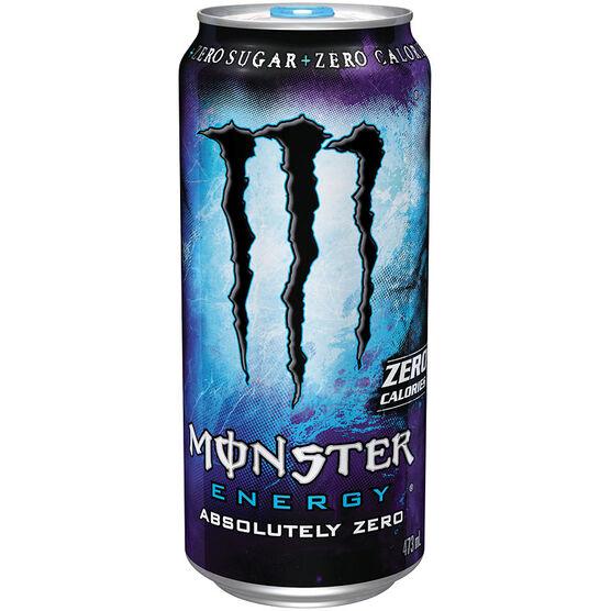 Monster Energy Drink Absolutely Zero - 473ml