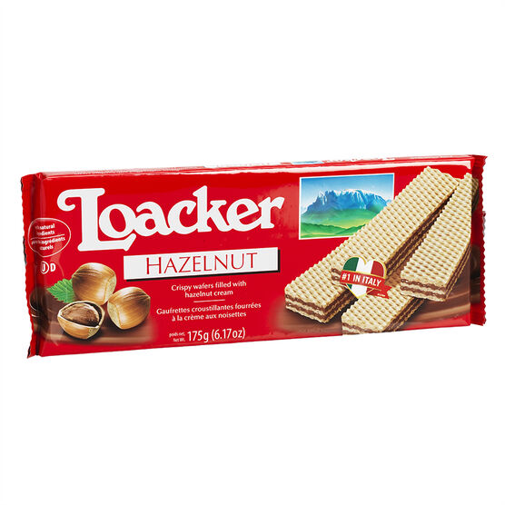 Loacker Wafers - Napolitaner Hazelnut - 175g