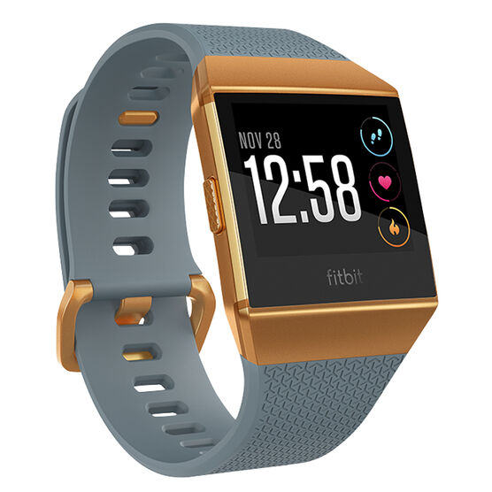 Fitbit Ionic Smartwatch - Blue/Orange