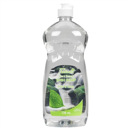 LD Natural Dishwashing Liquid - Unscented - 739ml