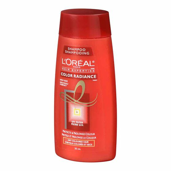 L'Oreal Color Radiance Shampoo for Dry Hair - 50ml